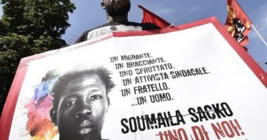 Soumayla Sacko ucciso come un animale